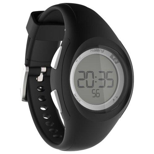Часы-секундомер для бега W200 s черные KALENJI X Декатлон