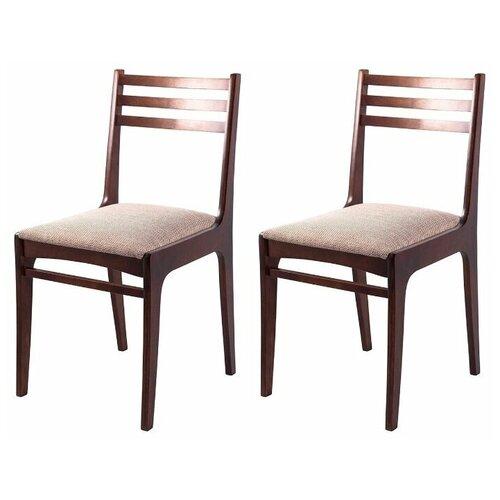 Комплект стульев Грис (С08) Грецкий орех аполо беж 2шт недорого