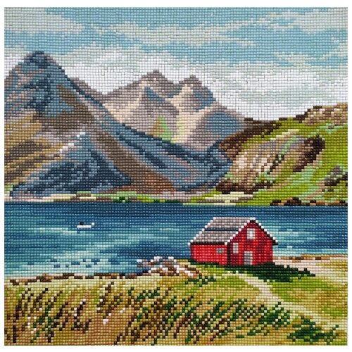 Купить Набор Лафотенские острова 30х30 Овен М-002), Наборы для вышивания