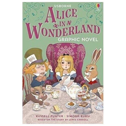 Купить Alice's Adventures in Wonderland, Usborne, Детская художественная литература