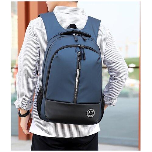 городской рюкзак 18209 синий Городской рюкзак aotian urban темно-синий городской usb