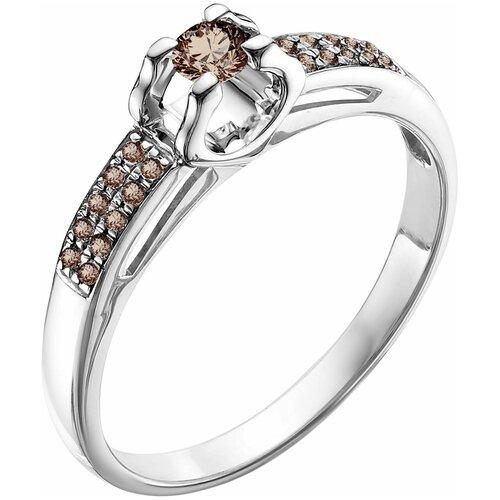 Vesna jewelry Кольцо 1489-256-09-00, размер 17.5 vesna jewelry серьги 2608 256 09 00