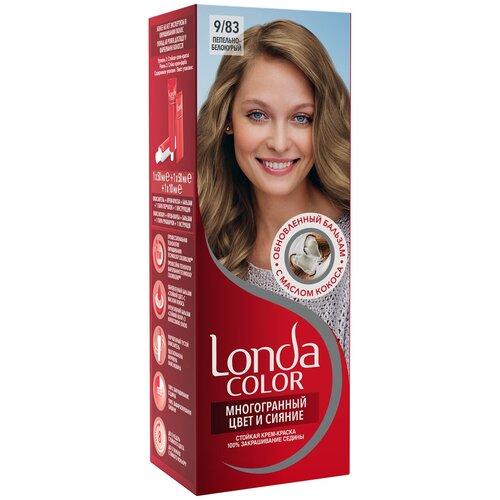 Фото - Londa стойкая крем-краска для волос Многогранный цвет и сияние, 9/83 (28) пепельно-белокурый londa стойкая крем краска для волос многогранный цвет и сияние 6 45 45 гранатово красный
