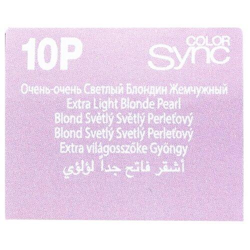 Купить Matrix Color Sync краска для волос без аммиака, 10P очень-очень светлый блондин жемчужный, 90 мл
