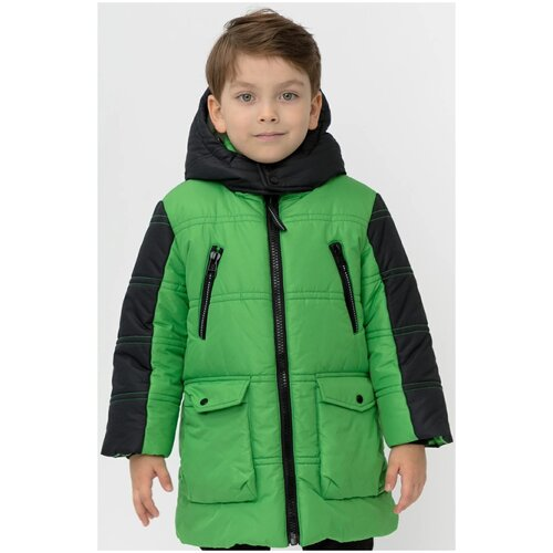 Фото - Куртка Button Blue 220BBBMC45024800 размер 116, зеленый куртка button blue 220bbbjc41024800 размер 140 зеленый