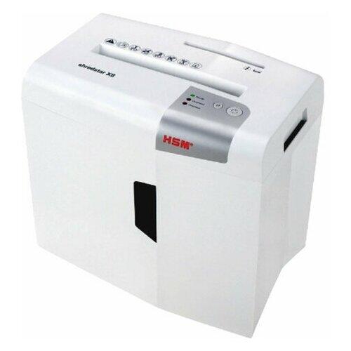 Уничтожитель (шредер) HSM SHREDSTAR X8-4.5x30 4 уровень секретности 45x30 мм 8 листов 18 литров 1044121 1 шт.