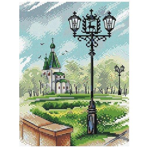 М.П.Студия Набор для вышивания Нижний Новгород 22х 17 см (М-447)