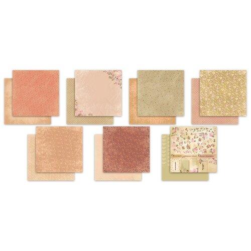 Купить Набор бумаги для скрапбукинга Mr.Painter Чайная роза , 30, 5x30, 5 см, 7 листов, арт. PSR-K-190205, Mr. Painter, Бумага и наборы
