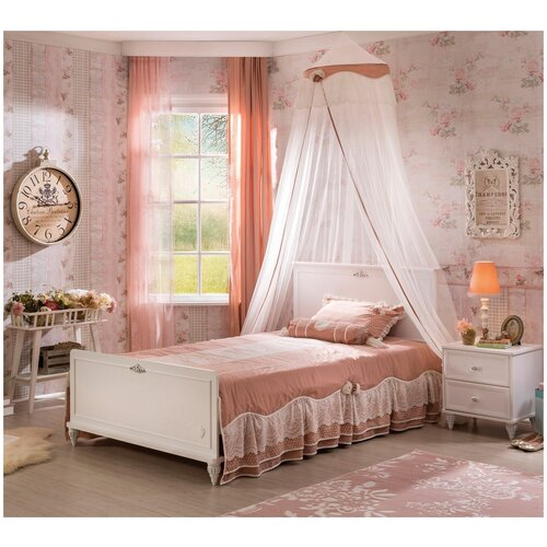 Купить Детская кровать Cilek Romantic ST, 200*120 см, Кроватки