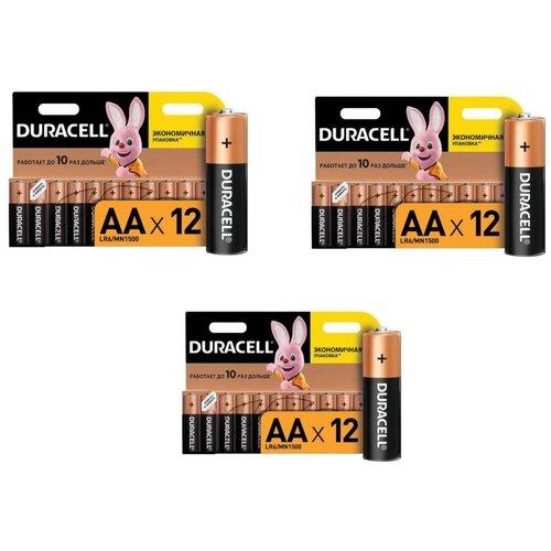 Фото - Батарейки Duracell размера AA 36 шт батарейки duracell размера aa 60 шт