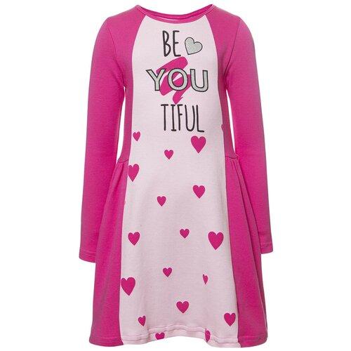 платье d Платье M&D размер 92, светло-розовый