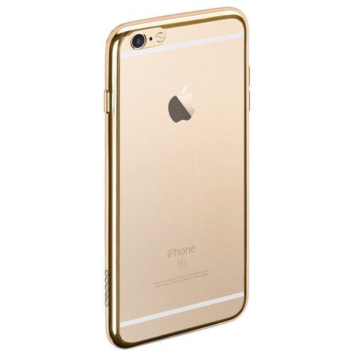 Чехол-накладка Deppa Gel Plus Case для Apple iPhone 6/iPhone 6S золотой недорого