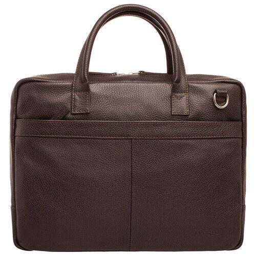 Фото - Деловая сумка для ноутбука Carter Brown мужская кожаная коричневая сумка milano brown 9282 коричневая