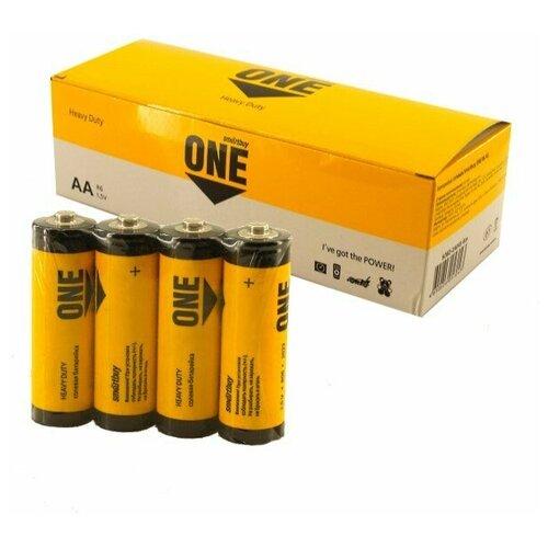 Фото - Батарейка Smartbuy Shrink4 ONE ECO (цена за 60 шт.) батарейка smartbuy one eco alkaline aa 40 шт