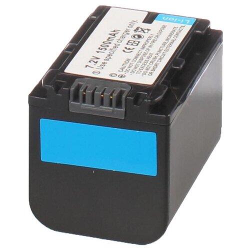 Аккумулятор iBatt iB-U1-F299 1500mAh для Sony PXW-X70, HDR-CX250E, HDR-CX110E, HDR-CX360E, HDR-CX550E, HDR-CX130E, DCR-SX44E, HDR-CX200E, HDR-XR550E, HDR-CX190E, DCR-SX44, HDR-CX580E, HDR-CX280E, HDR-CX400E,
