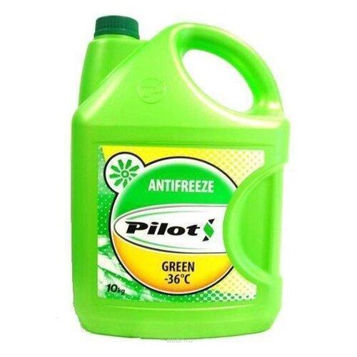 Антифриз Pilots Green Line, -40°С, цвет: зеленый, 10 кг (Производитель: PILOTS 3203)