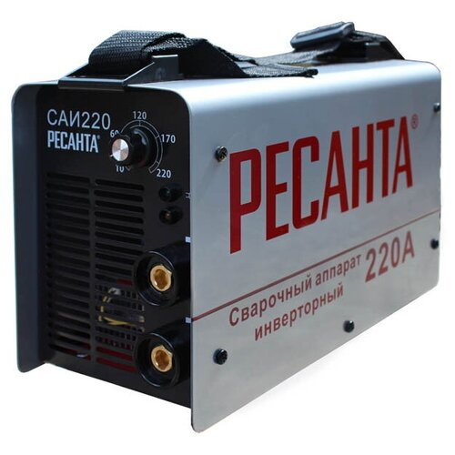 Сварочный аппарат инверторного типа РЕСАНТА САИ-220 MMA сварочный аппарат инверторного типа ресанта саи 190 краги mma