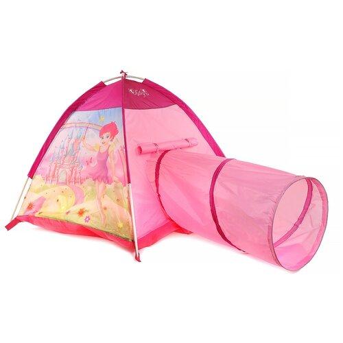 Купить Палатка Игровой домик Домик феечки с туннелем IT104643, розовый, Игровые домики и палатки