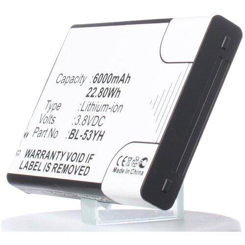 Аккумулятор iBatt iB-U1-M720 6000mAh для LG D855 G3, D850 G3, D851 G3, D856 (LG G3 Dual-LTE), F400 G3, VS985 G3, LS990 G3, D855, VS985,