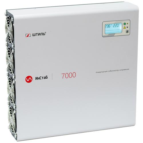 Стабилизатор напряжения однофазный Штиль IS7000 2020 (5.5 кВт) серый