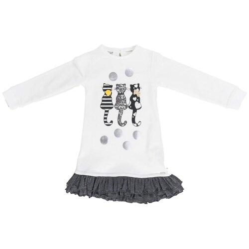 Фото - Платье Sarabanda размер 116, кремовый рубашка fendi размер 116 кремовый