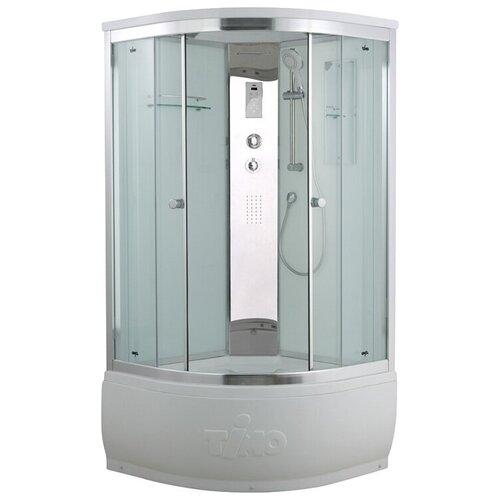 Душевая кабина Timo T-8800 высокий поддон 100см*100см белый прозрачное душевая кабина timo t 8800