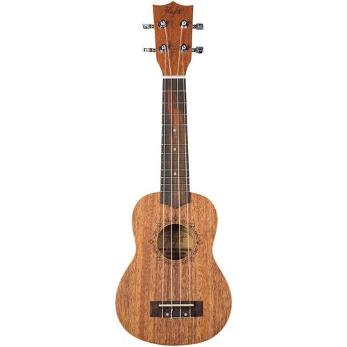 FLIGHT DUS321 MAH - укулеле, сопрано, цвет натурал, верхняя дека - кра