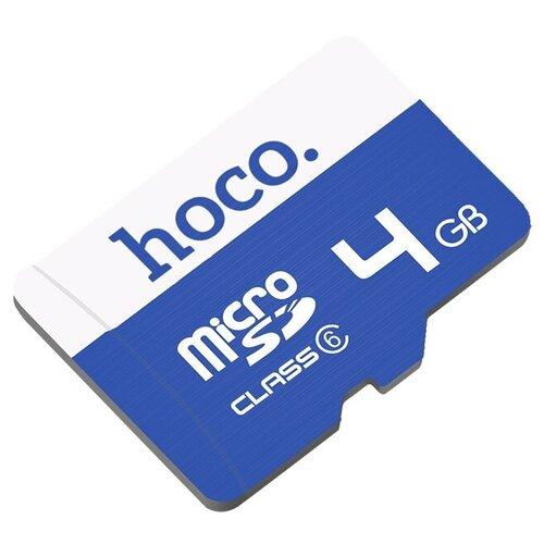 Фото - Micro SD 4GB class 10 карта памяти hoco micro sd 4gb синяя