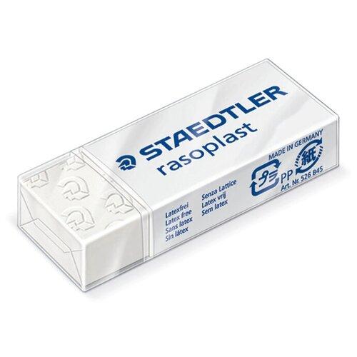 Staedtler Ластик Rasoplast (526 B45) белый staedtler ластик rasoplast 526 b20 белый
