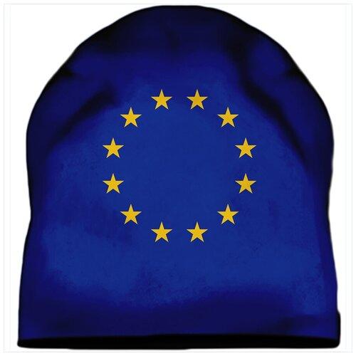 Шапка мужская Флаг Евросоюза