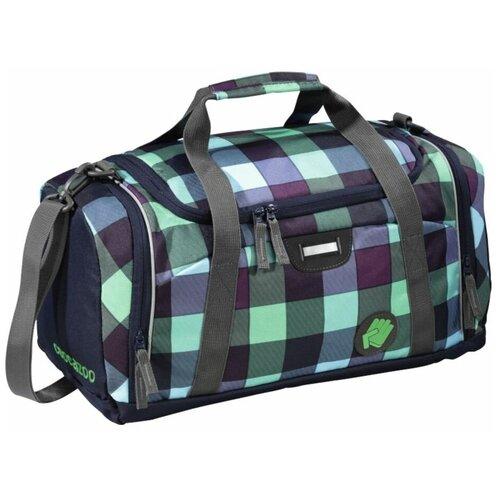 Фото - Сумка спортивная Coocazoo SporterPorter District, зеленый/черный сумка спортивная coocazoo sporterporter springman мятный