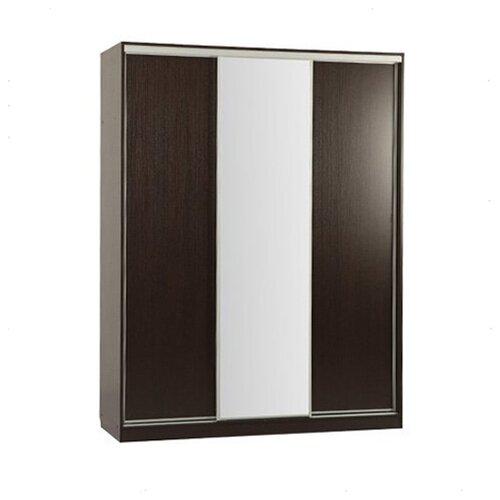 Шкаф-купе для одежды MEBELSON Бассо 1-600, (ШхГхВ): 177х60.4х230.5 см, венге шкафы купе для одежды