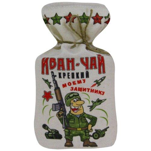 Чай травяной Глазова гора Иван-чай крепкий Моему защитнику, 100 г
