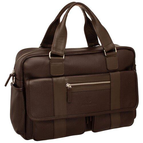 Деловая сумка Nevern Brown