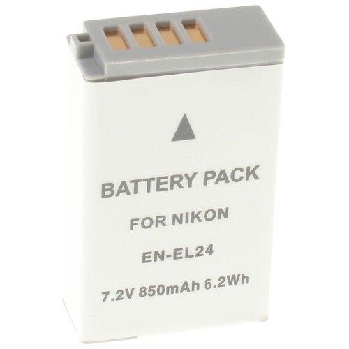 Фото - Аккумулятор iBatt iB-U1-F442 850mAh для Nikon 1 J5, наглазник jjc en u1 универсальный для камер nikon