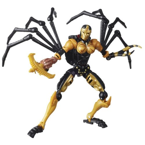Купить Трансформер Transformers Королевство. Класс Делюкс. Блэкарахния (F0670) черный/желтый, Роботы и трансформеры