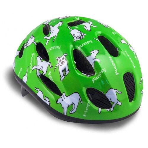 Шлем 8-9090052 с сеточкой Floppy 141 Grn детский 16 отверстий зеленый 48-54см AUTHOR