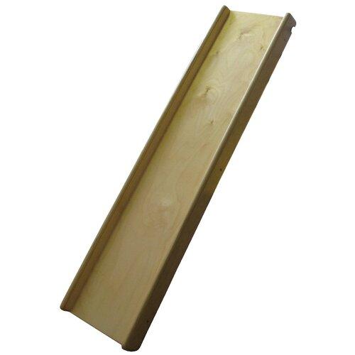 Купить Горка деревянная малая с бортиками для спорткомплекса и треугольника Пиклера, Ранний старт, Игровые и спортивные комплексы и горки