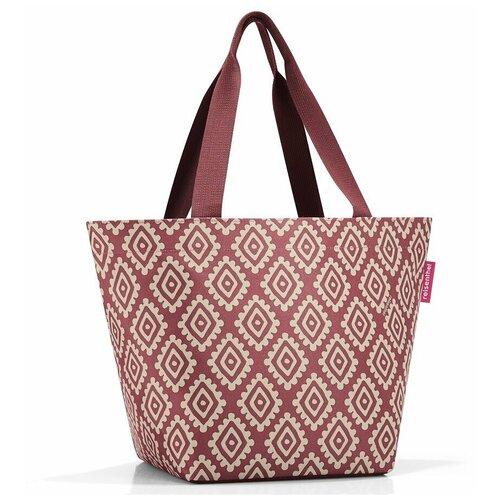 Сумка тоут reisenthel, текстиль, красный сумка тоут reisenthel текстиль красный