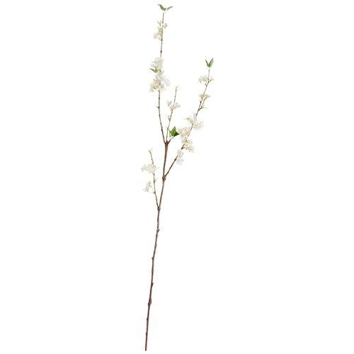 Искусственная ветвь Сакура белая Нежная 112 см, цвет: белый pablo de gerard darel белая блузка с рельефной отделкой