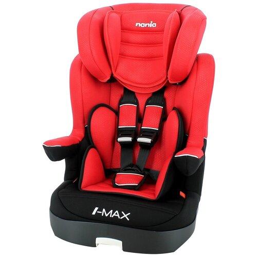 Автокресло группа 1/2/3 (9-36 кг) Nania I-Max SP Luxe, red автокресло группа 0 1 2 до 25 кг nania revo luxe isofix red