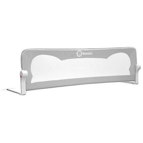 Lionelo Барьер на кроватку Eva серый барьер ограждение для прохода 76 105 см lionelo lo truus slim led white