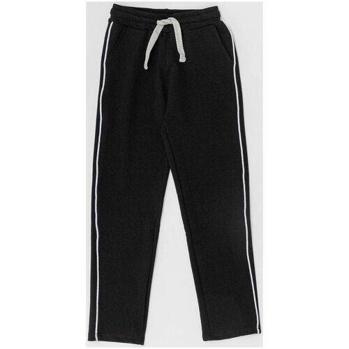 Спортивные брюки Button Blue размер 164, черный