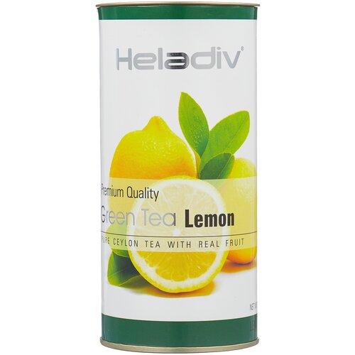 чай зеленый heladiv pekoe green tea soursop 250 г 1 уп Чай зеленый Heladiv Premium Quality Green Tea Lemon, 100 г, 1 уп.