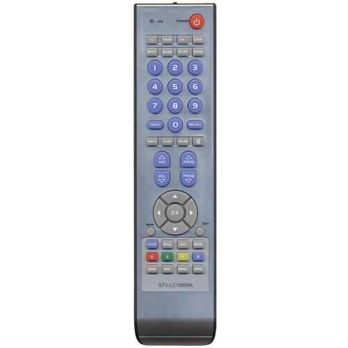 Фото - Пульт Huayu для Elenberg LTV-2231/SUPRA STV-LC1995WL HOB354 пульт huayu stv lc32lt0095w для телевизора supra