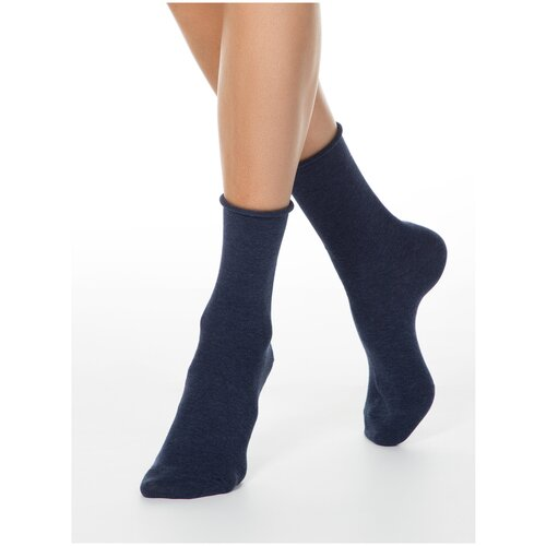 Носки Conte Elegant Comfort 19С-101СП, размер 23, темно-синий