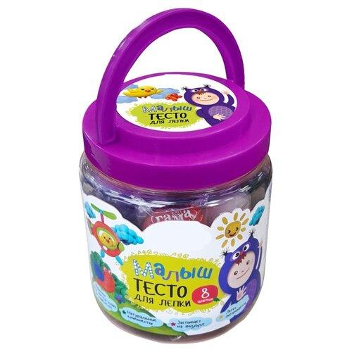 Купить Набор для лепки Гамма Тесто для лепки Малыш 8 цветов 211218_, ГАММА, Пластилин и масса для лепки