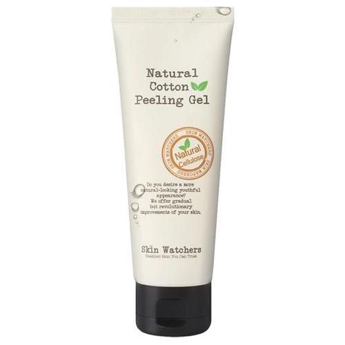 Skin Watchers Отшелушивающий гель-скатка для лица Natural Cotton Peeling Gel 100 мл