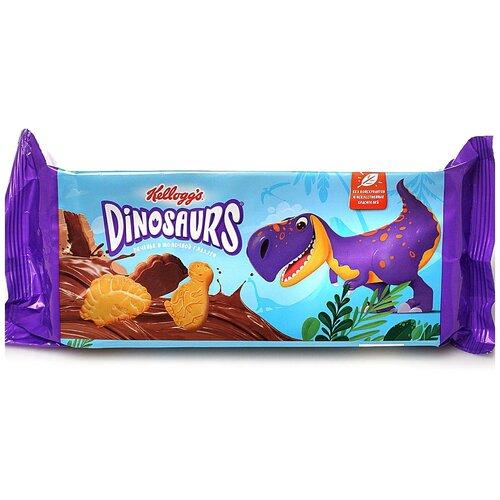 печенье kellogg s dinosaurs сахарное в молочной глазури 127 г Печенье Kellogg's Dinosaurs сахарное в молочной глазури, 127 г