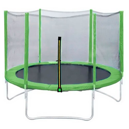 Фото - Каркасный батут DFC Trampoline Fitness 16FT-TR-LG/16FT-TR-B 488х488х269 см светло-зеленый каркасный батут dfc trampoline kengoo ii 16ft bas bo оранжевый